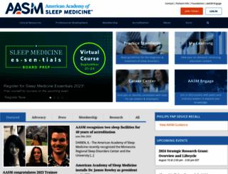 aasmnet.org screenshot