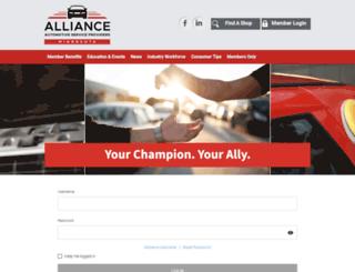 aaspm.memberclicks.net screenshot