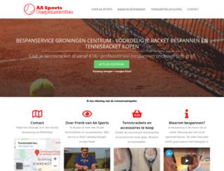 aasports.nl screenshot
