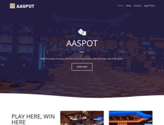 aaspot.net screenshot