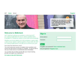 aatskillcheck.org screenshot