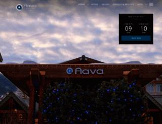 aavawhistlerhotel.com screenshot