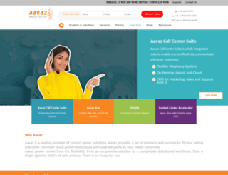 aavaz.biz screenshot
