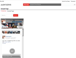 aawnews.com screenshot