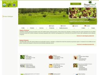 aayurherb.com screenshot