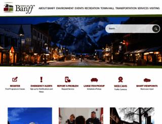 ab-banff.civicplus.com screenshot