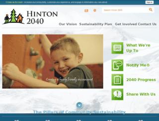 ab-hintoncommunity.civicplus.com screenshot