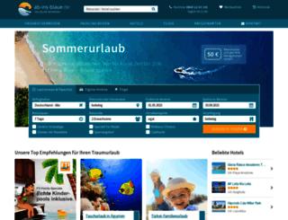 ab-ins-blaue.de screenshot