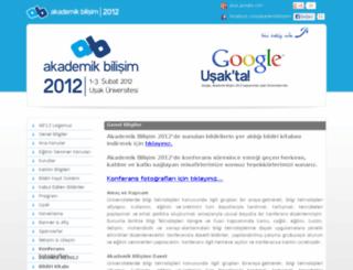 ab2012.usak.edu.tr screenshot