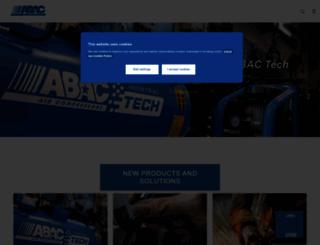 abac.co.uk screenshot