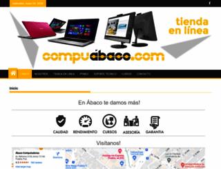 abacocomputadoras.com screenshot