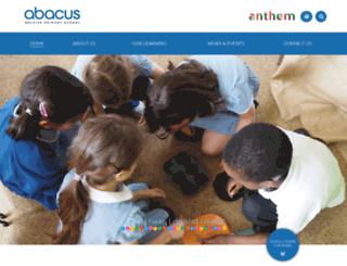 abacus-cfbt.org screenshot