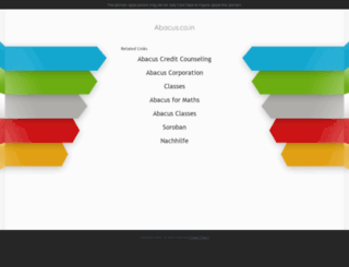 abacus.co.in screenshot