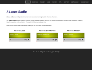 abacus.fm screenshot