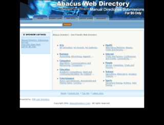 abacusdirectory.com screenshot