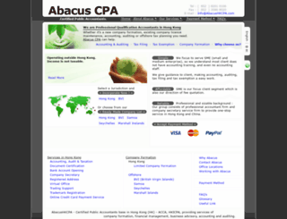abacushkcpa.com screenshot