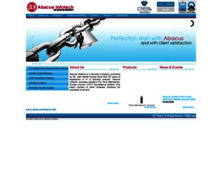 abacusinfotech.in screenshot