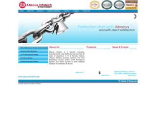abacusinfotech.net screenshot