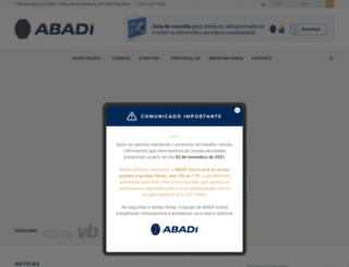 abadi.com.br screenshot