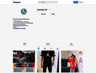 abadigrosir.com screenshot