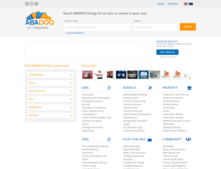 abadoo.org screenshot