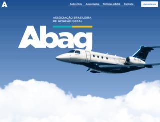 abag.org.br screenshot
