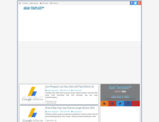abahtemplate.blogspot.com screenshot