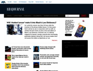 abajournal.com screenshot