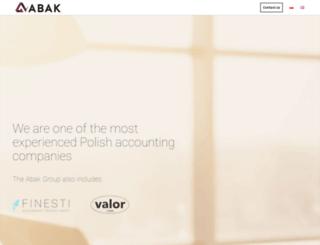 abak.com.pl screenshot