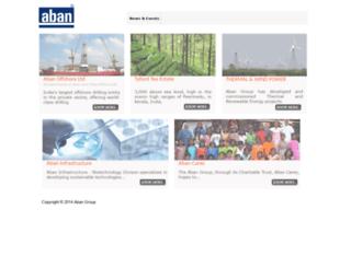 aban.com screenshot