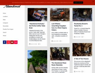 abandonedonline.net screenshot