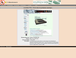 abandonware.org screenshot