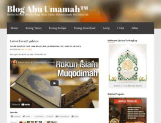 abangdani.wordpress.com screenshot