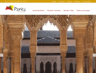 abanico-reisen.de screenshot