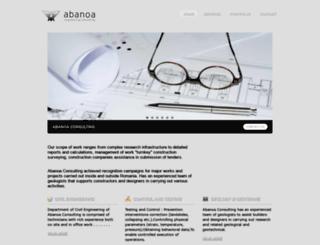 abanoa.com screenshot