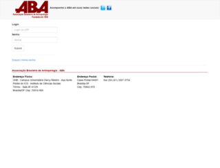 abant.org.br screenshot