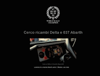 abarth.co.uk screenshot