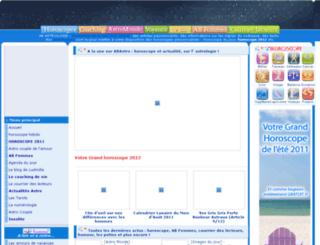 abastrologie.com screenshot