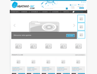 abattant-wc.com screenshot