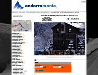 abba-xalet-hotel.andorramania.com screenshot