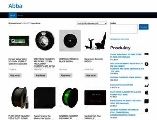 abba.com.pl screenshot