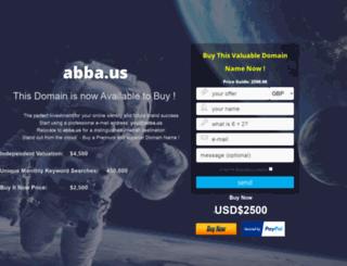 abba.us screenshot