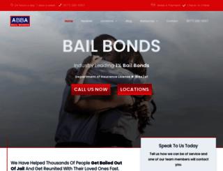 abbabailbonds.com screenshot