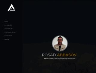 abbasov.net screenshot