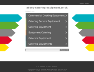 abbey-catering-equipment.co.uk screenshot