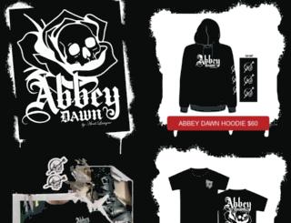 abbeydawn.com screenshot