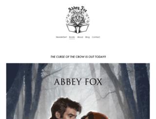 abbeyfox.com screenshot