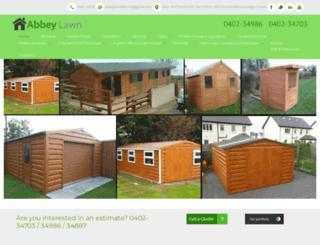 abbeylawn.com screenshot