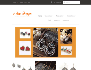 abbieshoppe.in screenshot