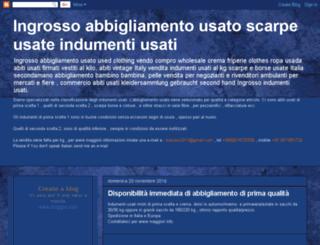 abbigliamento-usato.com screenshot